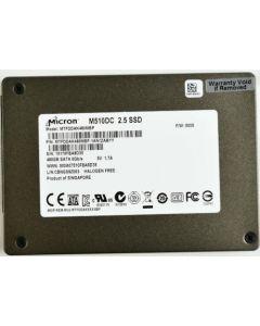 "Micron M510DC 120GB 2.5"" SATA III Internal Solid State Drive Not Encrypted SSD SSD MTFDDAK120MBP-1AN1ZABYY"