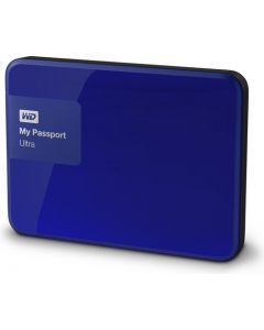 Western Digital My Passport Ultra 2TB USB 3.0 Portable External Hard Drive WDBBKD0020BBL-NESN Noble Blue)