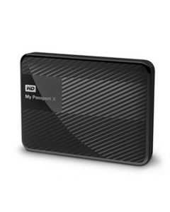 Western Digital My Passport X 2TB USB 3.0 Gaming Portable External Hard Drive WDBCRM0020BBK-NESN (Black)