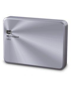 Western Digital My Passport Ultra Metal Edition 2TB USB 3.0 Portable External Hard Drive WDBEZW0020BSL-NESN (Silver)