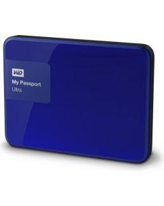 Western Digital My Passport Ultra 1TB USB 3.0 Portable External Hard Drive WDBGPU0010BBL-NESN Noble Blue)