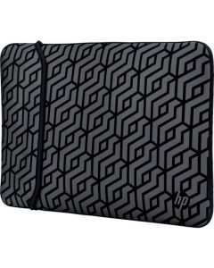 HP Carrying Case (Sleeve) for 14 in Notebook - Black, Gray 2TX16AA#ABL