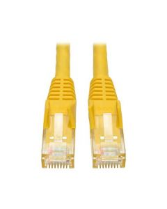Tripp Lite Cat6 Gigabit Snagless Molded Patch Cable (RJ45 M/M) - Yellow 50-ft.(N201-050-YW) N201-050-YW