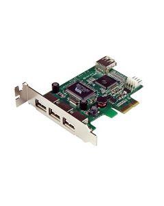 StarTech.com 4 Port PCI Express Low Profile High Speed USB Card - PCIe USB 2.0 Card - PCI-E USB 2.0 Card (PEXUSB4DP) PEXUSB4DP