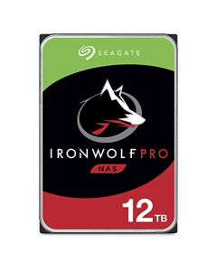 Seagate IronWolf Pro 12TB NAS Internal Hard Drive HDD – 3.5 Inch SATA 6Gb/s 7200 RPM 256MB Cache for RAID Network Attached Storage Data Recovery Service ST12000NE0008