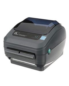 Zebra GX420d Direct Thermal Desktop Printer Print Width of 4 in USB Serial and Ethernet Port Connectivity Includes Peeler GX42-202411-000 GX42-202411-000