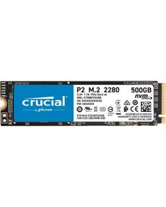 Crucial P2 500GB 3D NAND NVMe PCIe M.2 SSD - CT500P2SSD8 CT500P2SSD8