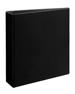 Avery 79692 Heavy-Duty View Binder 2 Inch One-Touch Slant Rings 540 Sheet Capacity DuraHinge Black 79692