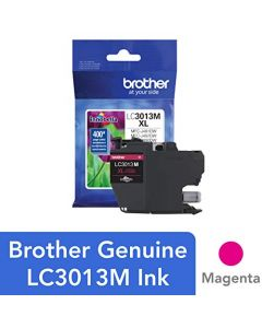 Brother Printer LC3013M Single Pack Cartridge Yield Up To 400 Pages LC3013 Ink Magenta LC3013M