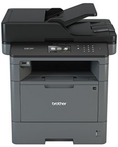 Brother Monochrome Laser Printer Multifunction Printer and Copier DCP-L5500DN Flexible Network Connectivity Duplex Printing Mobile Printing & Scanning Amazon Dash Replenishment Ready DCP-L5500DN