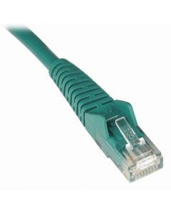 Tripp Lite Cat6 Gigabit Snagless Molded Patch Cable (RJ45 M/M) - Green 25-ft.(N201-025-GN) N201-025-GN
