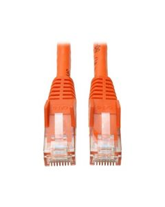 Tripp Lite Cat6 Gigabit Snagless Molded Patch Cable (RJ45 M/M) - Orange 3-ft.(N201-003-OR) N201-003-OR