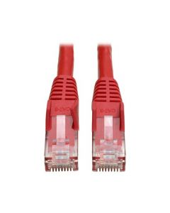 Tripp Lite Cat6 Gigabit Snagless Molded Patch Cable (RJ45 M/M) - Red 7-ft.(N201-007-RD) N201-007-RD