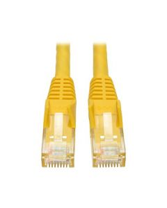 Tripp Lite Cat6 Gigabit Snagless Molded Patch Cable (RJ45 M/M) - Yellow 7-ft.(N201-007-YW) N201-007-YW