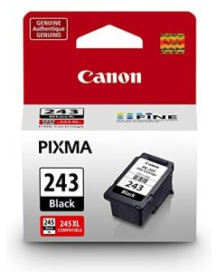 Canon PG-243 Black Ink Cartridge Compatible to iP2820 MX492 MG2420 MG2520 MG2920 MG2922 MG2924 MG3020 MG2525 TS3120 TS302 TS202 and TR4520 1287C001