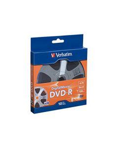 Verbatim DVD-R 4.7GB 8X - DigitalMovie Surface - 10pk Bulk Box 97946