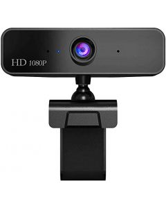HD 1080P Webcam with Microphone Manual Focus Webcam HD Computer Camera Web Camera PC Webcam for Video Calling Recording Conferencing 2 Megapixel Howell-Wecam