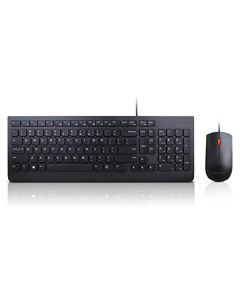 Lenovo Essential Wired Keyboard and Mouse Combo - US English 4X30L79883