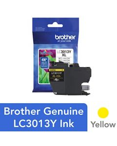 Brother Printer LC3013Y Single Pack Cartridge Yield Up To 400 Pages LC3013 Ink Yellow LC3013Y