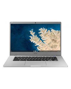 "Samsung Chromebook 4 + Chrome OS 15.6"" Full HD Intel Celeron Processor N4000 4GB RAM 32GbEmmc Gigabit Wi-Fi -XE350XBA-K01US - Silver XE350XBA-K01US"