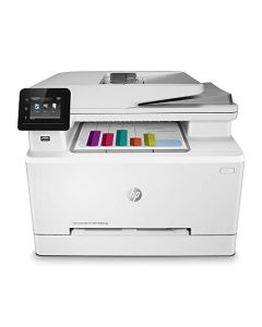 HP Color LaserJet Pro M283fdw Wireless All-in-One Laser Printer Remote Mobile Print Scan & Copy Duplex Printing (7KW75A) White Model:7KW75A#BGJ 7KW75A#BGJ