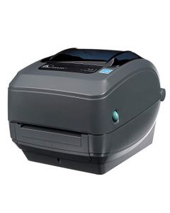 Zebra GX430t Thermal Transfer Desktop Printer Print Width of 4 in USB Serial and Parallel Port Connectivity GX43-102510-000 GX43-102510-000