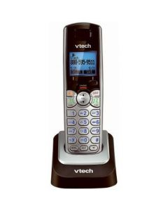 VTech DS6101 Accessory Cordless Handset Silver/Black | Requires a DS6151 Series Phone System to Operate DS6101