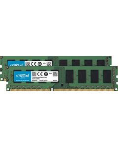 Crucial 8GB Kit (4GBx2) DDR3L 1600 MT/s (PC3L-12800)  Unbuffered UDIMM  Memory CT2K51264BD160B CT2K51264BD160B