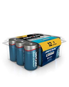 Rayovac D Batteries Alkaline D Cell Batteries (12 Battery Count) 813-12PPK