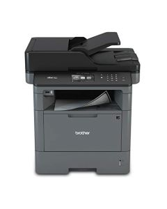 Brother Monochrome Laser Multifunction All-in-One Printer MFC-L5700DW Flexible Network Connectivity Mobile Printing & Scanning Duplex Printing Amazon Dash Replenishment Ready Black MFC-L5700DW