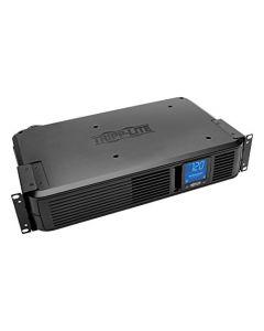Tripp Lite 1200VA Smart UPS Battery Back Up 700W Rack-Mount/Tower 8 Outlets LCD Display AVR USB DB9 2URM 3 Year Warranty & $250,000 Insurance (SMART1200LCD) FBA_SMART1200LCD