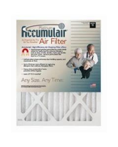21x23x1 (Actual Size) Accumulair Platinum 1-Inch Filter (MERV 11) (4 Pack) FA21X23A_4