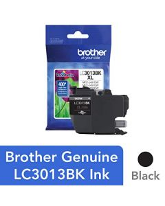 Brother Printer High Yield Ink Cartridge Page Up To 400 Pages Black (LC3013BK) LC3013BK