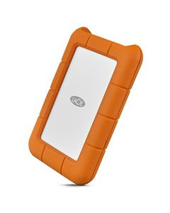 LaCie Rugged USB-C 5TB External Hard Drive Portable HDD – USB 3.0 Drop Shock Dust Rain Resistant Shuttle Drive for Mac and PC Computer Desktop Workstation Laptop 1 Month Adobe CC (STFR5000800) STFR5000800