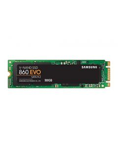 Samsung 860 EVO SSD 500GB - M.2 SATA Internal Solid State Drive with V-NAND Technology (MZ-N6E500BW) MZ-N6E500BW