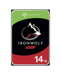 Seagate IronWolf 14TB NAS Internal Hard Drive HDD – CMR 3.5 Inch SATA 256MB Cache for RAID Network Attached Storage ST14000VN0008