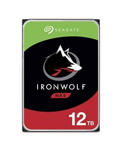 Seagate IronWolf 12TB NAS Internal Hard Drive HDD – 3.5 Inch SATA 6Gb/s 7200 RPM 256MB Cache for RAID Network Attached Storage ST12000VN0008
