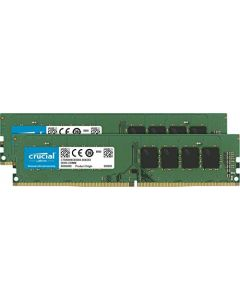 Crucial 32GB Kit (16GBx2) DDR4 2666 MT/s (PC4-21300) DR X8 DIMM 288-Pin Memory - CT2K16G4DFD8266 CT2K16G4DFD8266