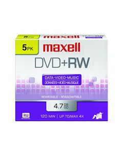 Maxell 634045 4.7Gb Dvd+Rw Disc Slim Jewel 634045