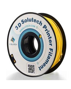 3D Solutech Real Yellow 1.75mm ABS 3D Printer Filament 2.2 LBS (1.0KG) ABS175RYL