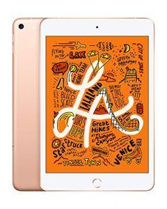 Apple iPad Mini (Wi-Fi + Cellular 64GB) - Gold (Latest Model) MUXH2LL/A