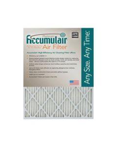 20X24X1 (19.75 x 23.75) Accumulair Platinum 1-Inch Filter (MERV 11) (4 Pack) FA20X24_4