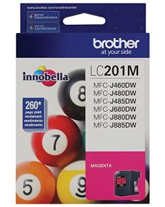 Brother LC201M Standard Yield Magenta Ink Cartridge LC201M