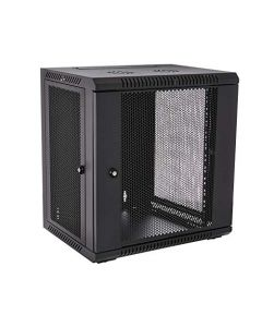 V7 RMWC12UV450-1N Rack Mount Wall Cabinet Enclosure 12U Vented,Black RMWC12UV450-1N