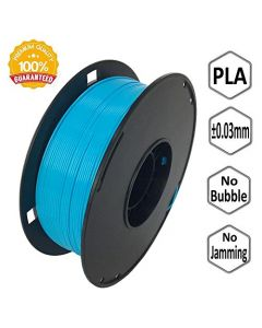 NOVAMAKER 3D Printer Filament - Sky Blue 1.75mm PLA Filament PLA 1kg(2.2lbs) Dimensional Accuracy +/- 0.03mm NV-PLA175-SB