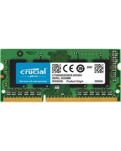 Crucial 8GB Single DDR3/DDR3L 1866 MT/s (PC3-14900) 204-Pin SODIMM RAM Upgrade for iMac (Retina 5K 27-inch Late 2015) - CT8G3S186DM CT8G3S186DM