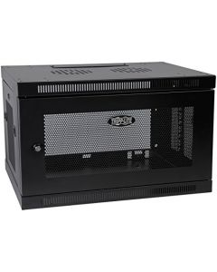 "Tripp Lite 6U Wall Mount Rack Enclosure Server Cabinet 16.5"" Deep Switch-Depth (SRW6U),Black SRW6U"