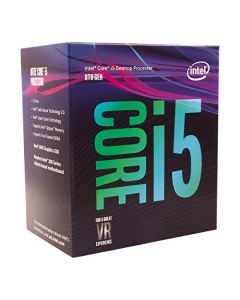 Intel Core i5-8400 Desktop Processor 6 Cores up to 4.0 GHz  LGA 1151 300 Series 65W BX80684I58400