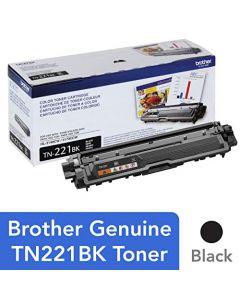 Brother Genuine Standard Yield Toner Cartridge TN221BK Replacement Black Toner Page Yield Upto 2,500 Pages Amazon Dash Replenishment Cartridge TN221 TN221BK
