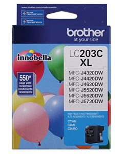 Brother Printer LC203C High Yield Ink Cartridge Cyan LC203C